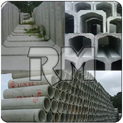 malaysia Pipe Culvert, RC Square Piles