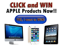 win ipad and apple products in malaysia